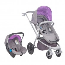 Coche Travel System GrisLila Epic 2.1-01