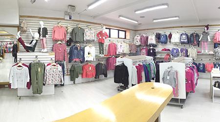 tienda north face coyhaique